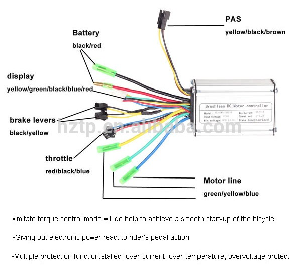 HTB1mONgLVXXXXXFaXXXq6xXFXXXJ edbikes controller wiring diagram diagram wiring diagrams for electric bike wiring diagram at n-0.co