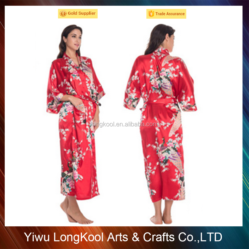 Nueva manera de las mujeres vestido de noche de seda del diseñador ...