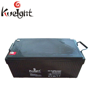 12 V battery 230 AH long cycle time gel battery for solar system