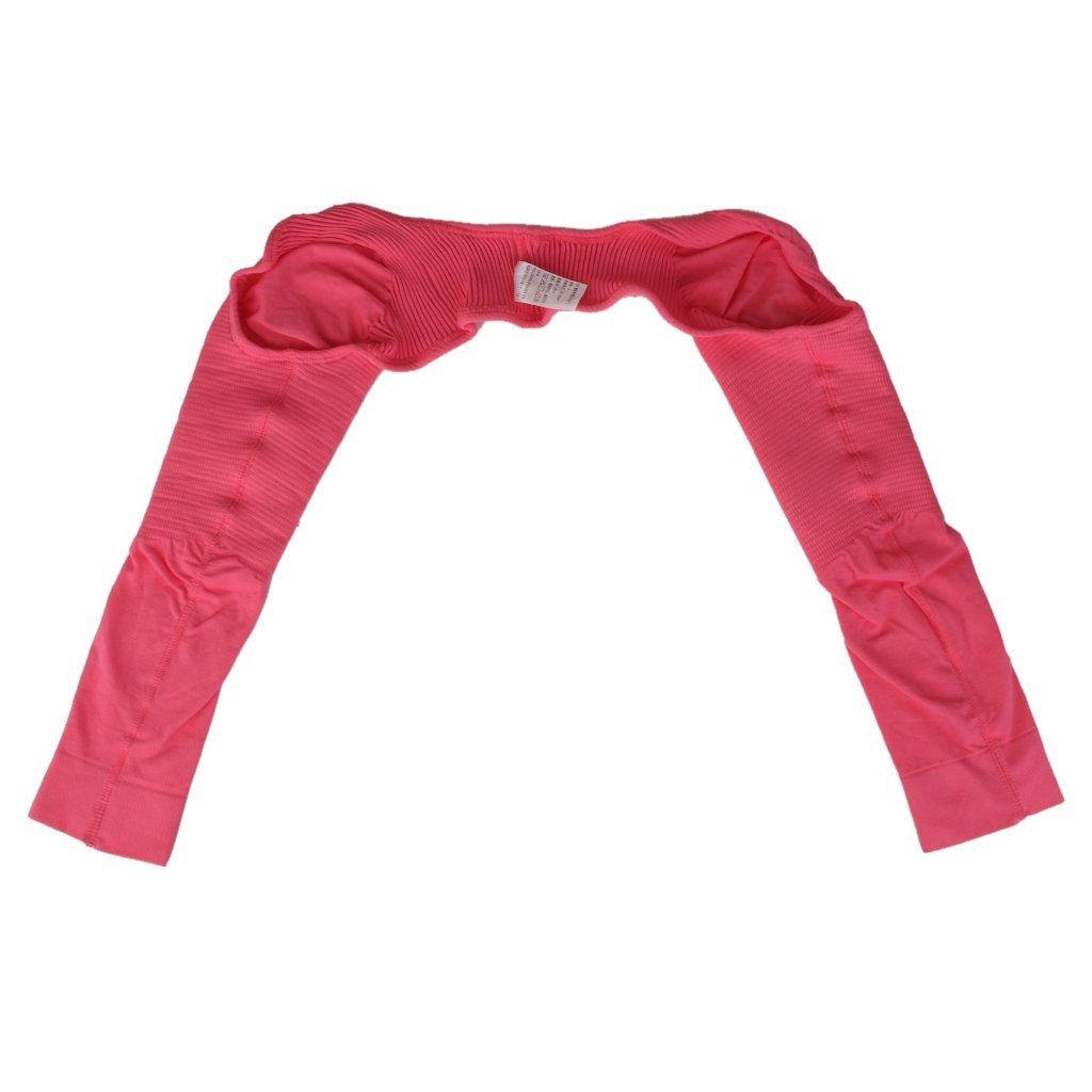 Shoulder Arm Slimming Shaper Long Sleeves Shapewear - Pink L