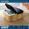 HS-092AY 5 person freestanding massage outdoor whirlpool spa bathtub