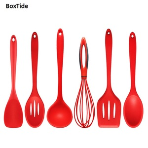 Best Quality Silicone Kitchen Cooking Tool Utensil Set for Dinner