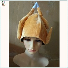 Cheap Unisex Funny Thanksgiving Day Party Turkey Hats HPC-3532