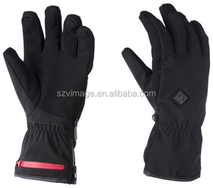 Smart Wool Touchscreen Battery Heated Thin Gloves With 3 Settings