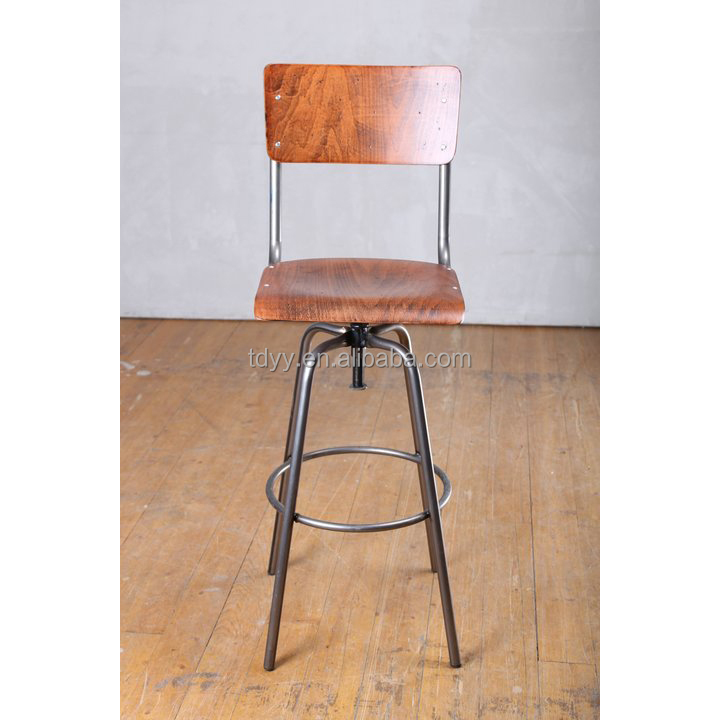 china bar stool wood swivel barstool