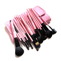 23pcs rosered goat hair beauty accessories wholesale makeup brushes make up for beautiful you