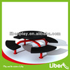 Galvanised Steel round park bench,garden bench with PVC coated LE.XX.066