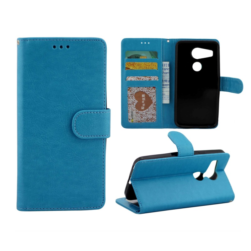 for LG Nexus 5X Protective Leather Wallet Case Cover for LG Nexus 5X with Stand - Blue