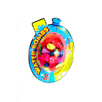 #water bomb# 50pcs water drop card packing water balloon with filler inside