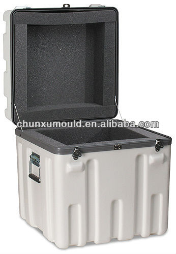 roto molded LLDPE plastic storage tooling box