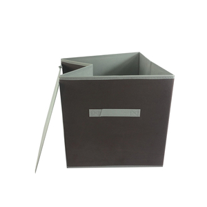 OYUE custom folding cube non-woven cloth storage box for home