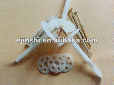 Plastic insulation iron nails