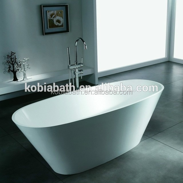 K09 Oval Small Freestanding one piece bath tub colorful bathtub for small spaces