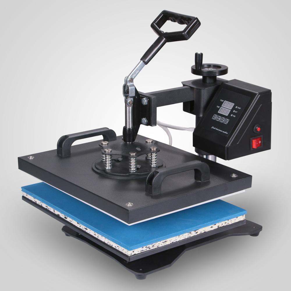 5 في 1 كومبو القدح نقل الحرارة التسامي فراغ آلة الصحافة الحرارية t آلة طباعة على القمصان