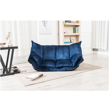 low priced e1bb8 cd6b3 Velour Futon Floor Blue Sofa Bed Fabric,Living Room Sofa Bed,Japanese Sofa  Bed Floor Sofa Bed Wholesale - Buy Fabric Sofa Bed,Lounge Sofa Bed,Lounge  ...