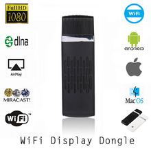 Full Hd 1080p Miracast DLNA WIDI airplay Wifi Display Dongle Wireless Share Push Receiver Adapter For ios Android Phone tablet