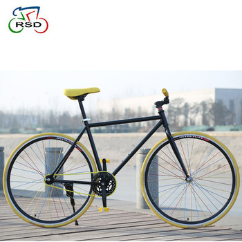 Ce Standard 700c Colorful Taiwan Fixed Gear Bike / Single Speed ...