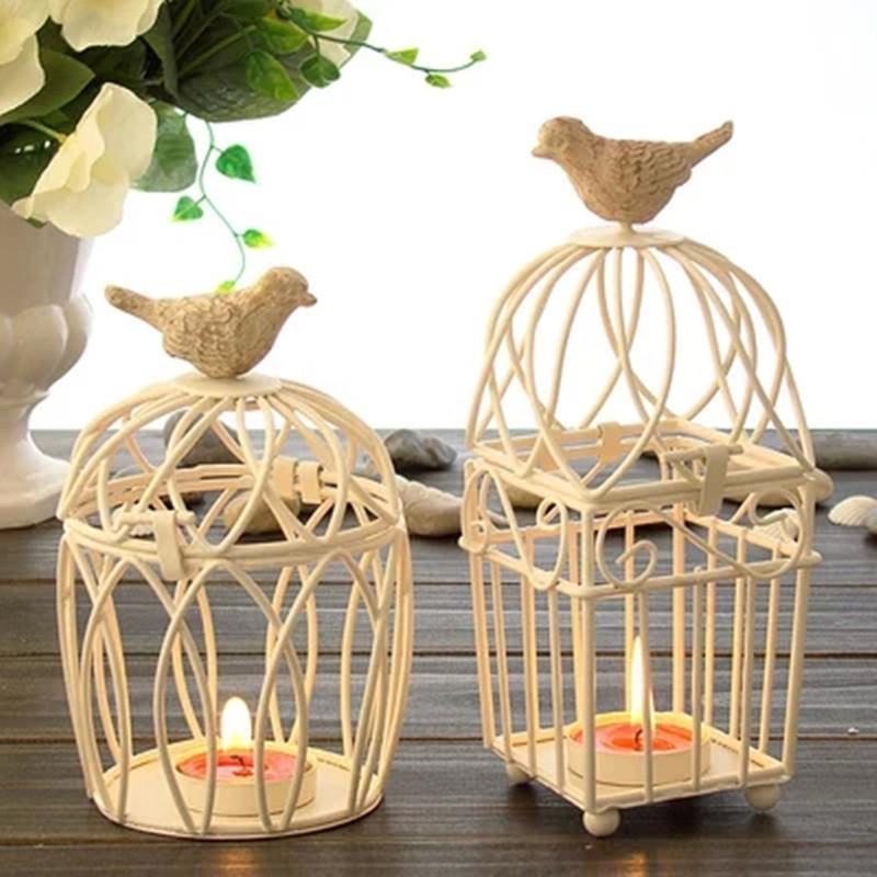 Decorative Bird Cages Weddings Candlesticks Vintage Metal