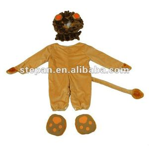 TZ-62270 Animals Deluxe Toddler litter Baby Infants Lion Costume