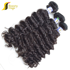 Completely unprocessed 26 inch human hair extension virgin brazilian four seasons hair