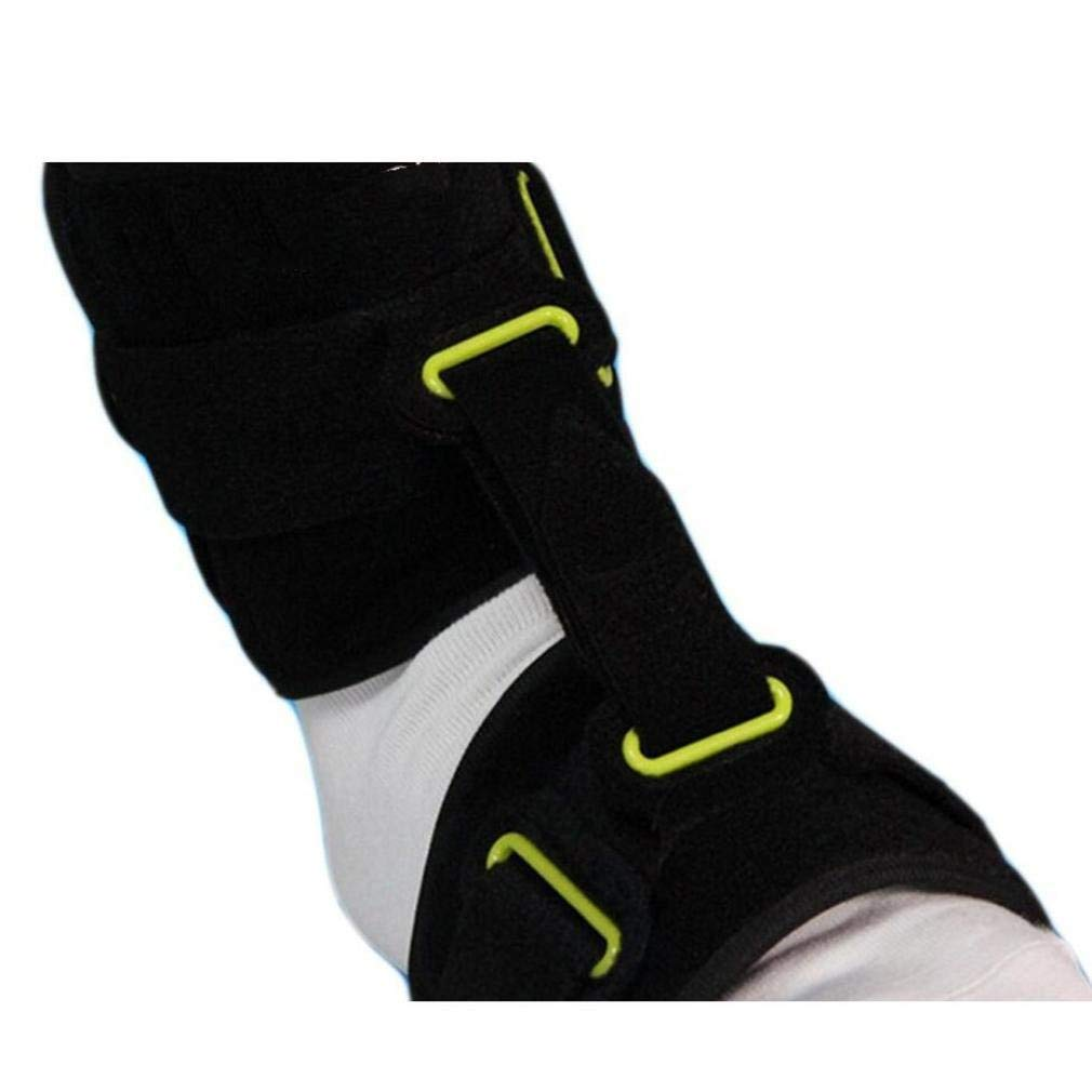 LPY-Drop Foot Orthosis Ankle Joint Brace Night Time Pain Relief Plantar Fasciitis Splints Orthotics Corrector Day and Night Foot Drop Correction