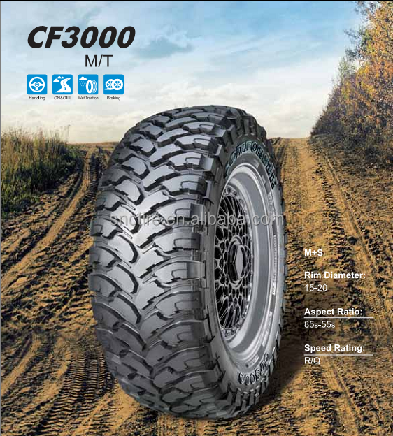 off the road tire 4*4 mud tires trial order