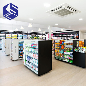 pharmacy display furniture for retail pharmacy shop interior design