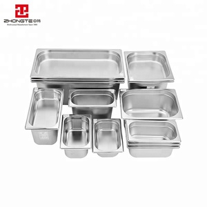 Manufacturing Factory Prices gn pan stainless Food Container/Ice Cream Pan