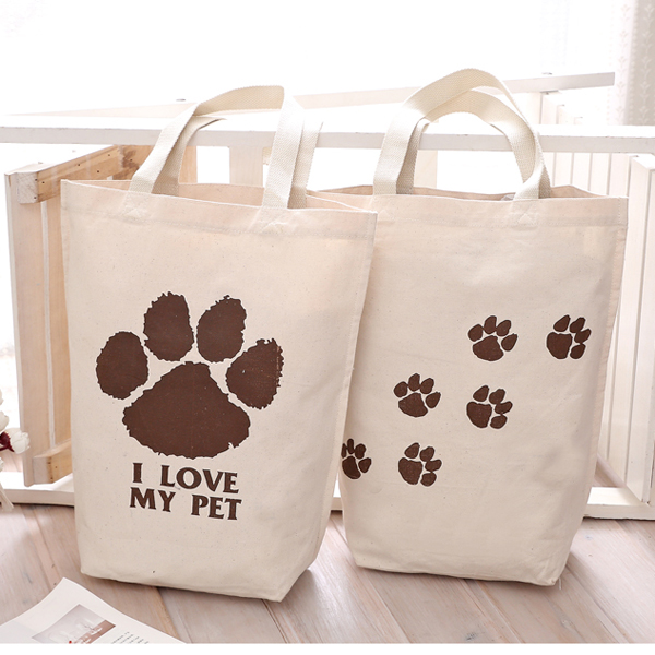 Cheap Cotton Tote Bag Shopping Bag With Custom Printed Logo