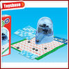 Kids toy bingo game set with casino game