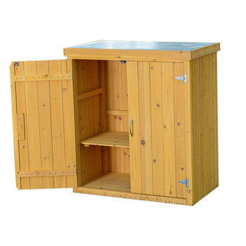 Sale Small Wood Storage Shed with Double Door