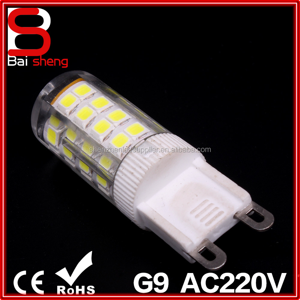 factory direct sale Cheap Price G4 E14 G9 LED 3.5W 51SMD 220V Ceramics 2835 G9 LED