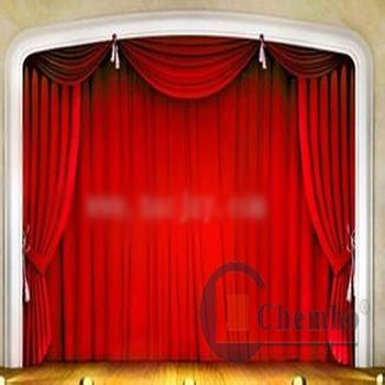 Velvet Stage Roll Up Curtains For Sale Rolling Curtains