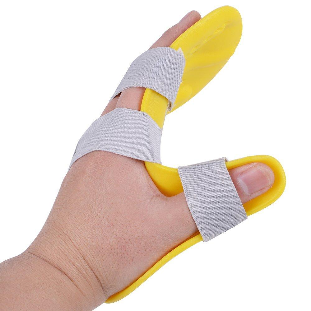 Jinon Finger Training Board/Device/Splint Fingerboard Train Finger Orthotic Point Rehabilitation Equipment for Stroke/hemiplegia/Traumatic Brain Injury(Left)