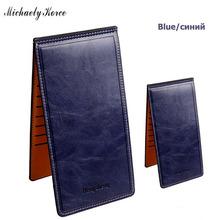 Hot Selling Ultra Thin Women Wallets Soft Waxy Leather Purse Single Zipper Coin Pocket ID Card