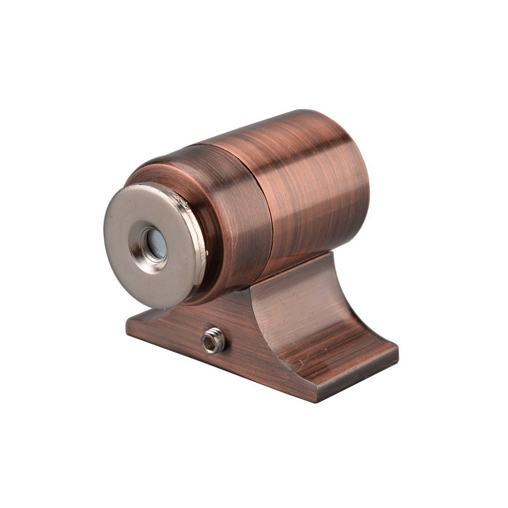 Wall Mounted Oil Rubbed Bronze LUANT Solid Mental Magnetic Door Stop