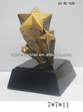 shooting star resin souvenir award