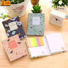 Custom sticky note book or notepad with different shape and color