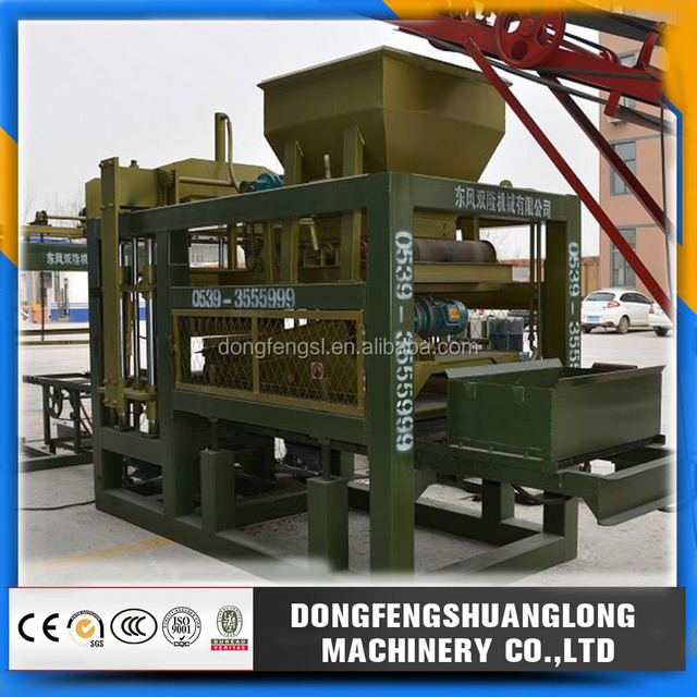 QT 4-15 new construction materials making machine /ultimate building block machine