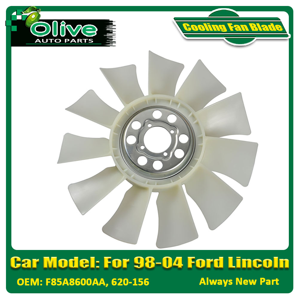 Engine Cooling Fan Blade For 98-04 Ford F-150 Expedition F-250 Navigator F85A8600AA 620-156