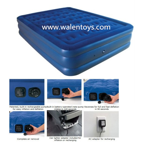 Air Bed For Elderly,Deluxe High Raised Air Mattress,Inflatable Bed ...