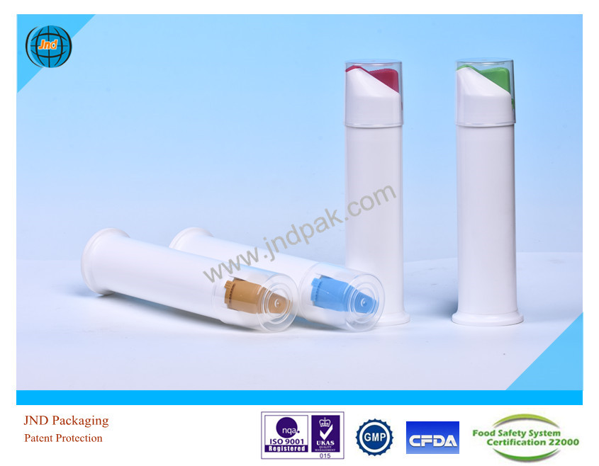 Pharmaceutical & Cosmetic Tubes by GMP standard plant with super offset printing and Patent Protection