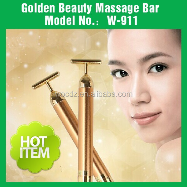24K Golden Beauty Bar For Face Care Beauty Thin And Facial Wrinkles