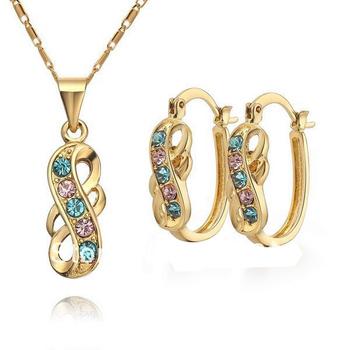 Classic 18 Karat Gold Italian Gold Jewelry Sets Buy Gold Jewelry