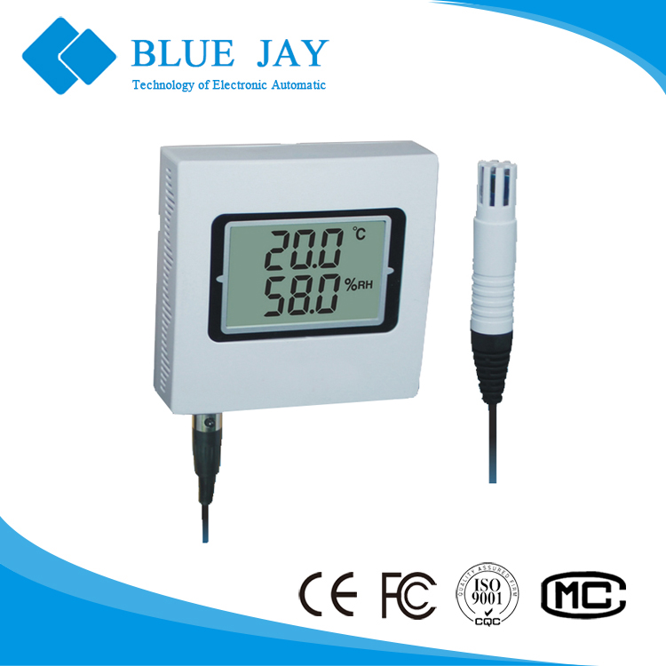 HE400A-EX 4mA ~ 20mA output, -30C ~ 70C <strong>Temperature</strong> and Humidity Transmitter 4 Keys for Setup and Calibration