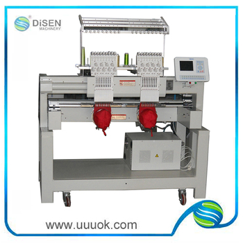 chenille embroidery machine used high speed chenille embroidery machine with two heads 7767