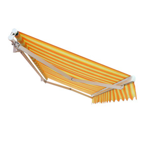 Cheap Price 70mm Roller Tube Balcony Protected Metal Frame Motorized Retractable Awning