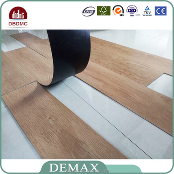100 Waterproof Wood Texture Pvc Tile Commercial Vinyl Plank