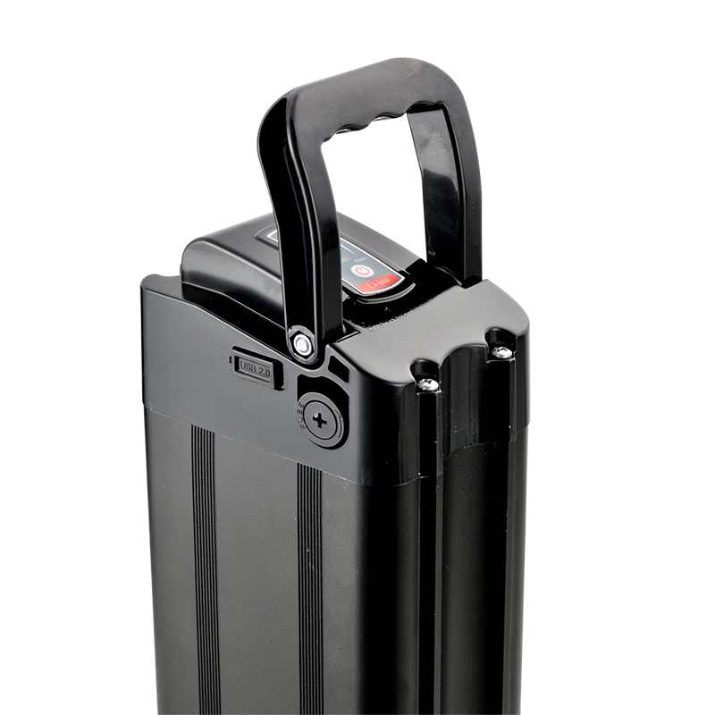 silver fish type 48V 14.5ah battery lithium ebike battery with usb port, Optional;it depends on you
