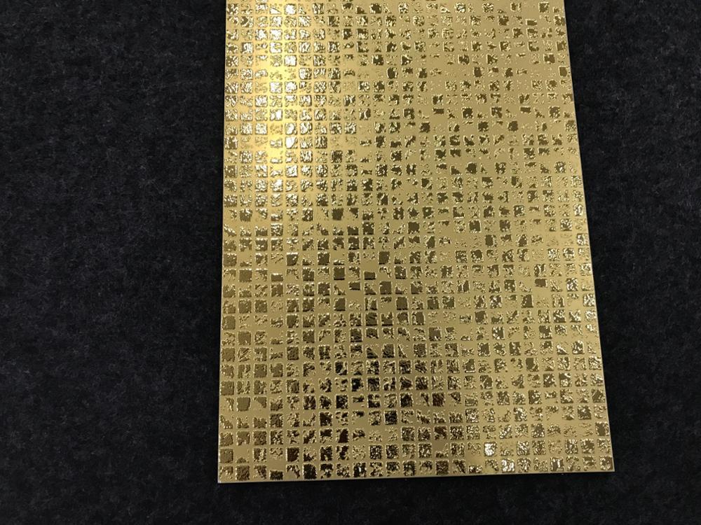 300x600mm De Cristal Pulido Oro Azulejos Para Cuarto De Baño De Lujo Y Sala  De - Buy Azulejo Dorado,Azulejos Dorados De Cristal,Azulejos Dorados ...